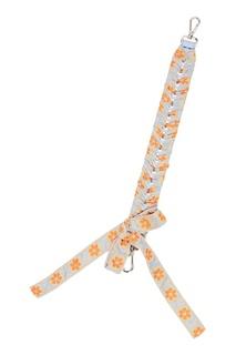 Плетеный ремень с бантом для сумки Fendi