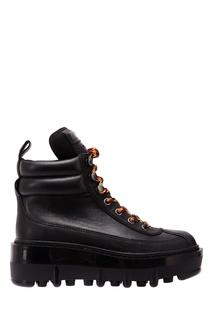Черные ботинки с контрастной шнуровкой Marc Jacobs