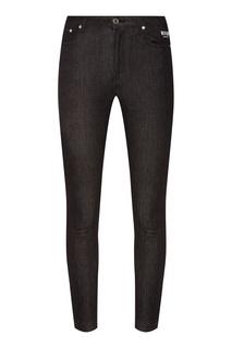 Черные джинсы с лампасами Msgm