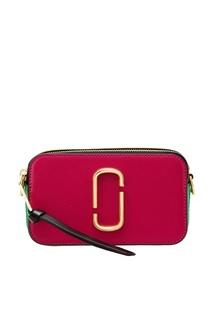 Контрастная кожаная сумка Marc Jacobs
