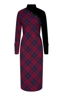 Асимметричное шерстяное платье Marc Jacobs