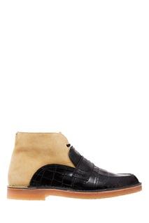 Комбинированные ботинки Loewe
