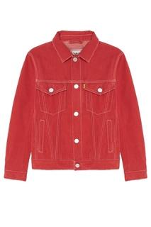 Красная джинсовая куртка Grunge John Orchestra Explosion