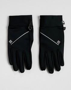 Черные беговые перчатки Columbia Trail Summit - Черный