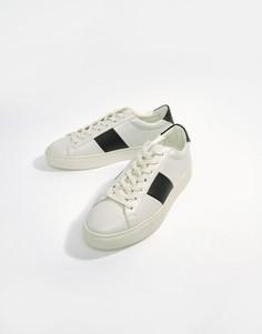 Черное-белые кроссовки с полосками Good For Nothing - Белый