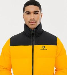 Желтая дутая куртка Converse 10009065-A01 - Желтый