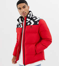 Красная дутая куртка Converse эксклюзивно для ASOS 10009066-A01 - Красный