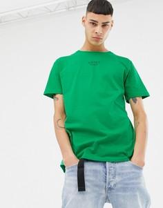 Зеленая футболка с принтом SWEET SKTBS - Зеленый