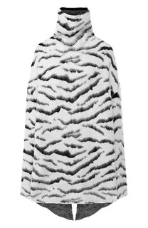 Пуловер свободного кроя с высоким воротником Givenchy