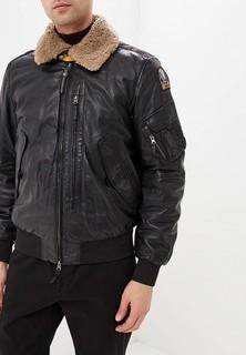 Куртка кожаная Parajumpers