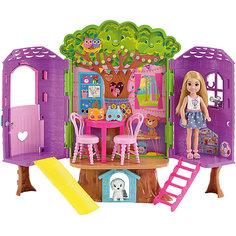 Игровой набор Barbie «Домик на дереве Челси» Mattel