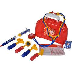 """Игровой набор Simba """"Доктор"""" в чемоданчике, 10 предметов"""