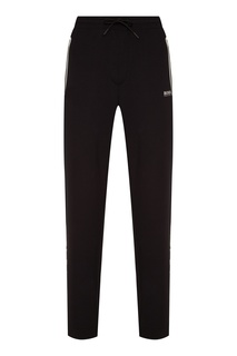 Черные брюки с контрастной отделкой Boss Green