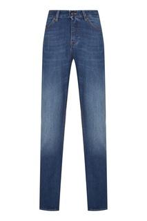 Мужские джинсы голубого цвета Hugo Boss