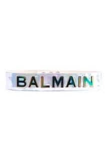 Ламинированный пояс с отделкой Balmain