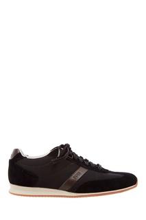 Черные кроссовки Boss Orange