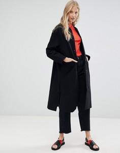 Длинное пальто d.Ra - Черный