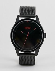 Черные часы HUGO 1530044 Move - Черный