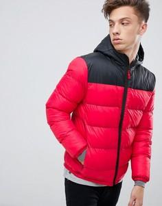 Дутая куртка с капюшоном Tokyo Laundry - Красный