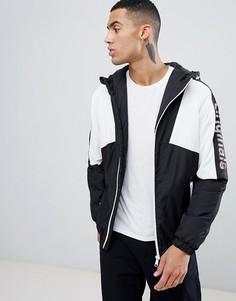 Спортивная куртка с надписью на рукаве Jack & Jones Originals - Черный