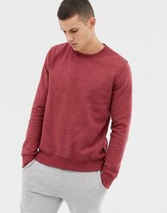 Красный меланжевый свитшот Burton Menswear - Красный