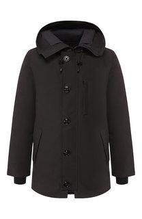 Пуховая куртка Chateau на молнии с капюшоном Canada Goose