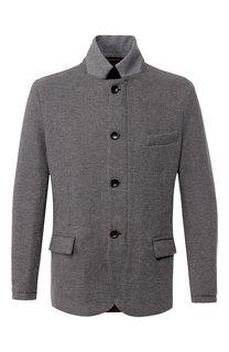 Двусторонняя пуховая куртка на молнии Capobianco