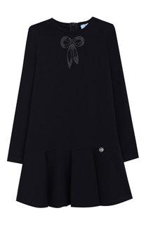 Платье из вискозы Lanvin