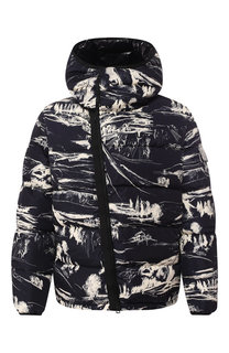 Пуховая куртка Neuvic на молнии с капюшоном Moncler