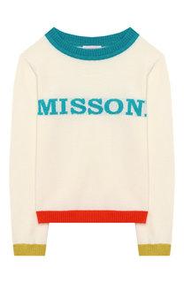 Шерстяной пуловер Missoni