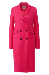 Двубортное шерстяной пальто BOSS