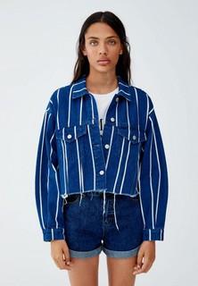 Куртка джинсовая Pull&Bear