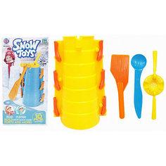Набор для лепки замков из снега 1Toy, 10 предметов
