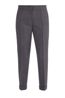 Серые брюки с меланжевым эффектом Etro
