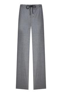 Серые брюки с эластичным поясом Calvin Klein