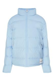 Голубая стеганая куртка Calvin Klein