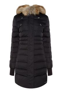 Стеганая куртка с мехом Calvin Klein