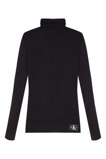 Черная водолазка Calvin Klein