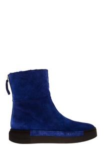 Синие ботинки Vic Matie
