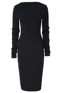 Платье миди с длинными рукавами Rick Owens
