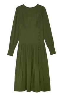 Зеленое платье Akhmadullina Dreams