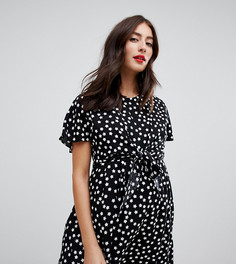 Платье мини с запахом для кормящих мам ASOS DESIGN Maternity - Мульти
