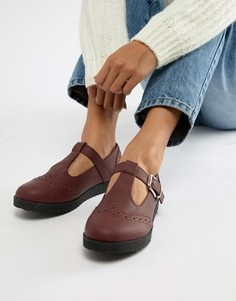 Туфли на плоской подошве Truffle Collection - Красный