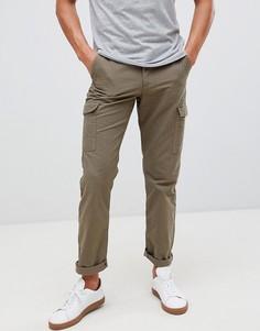 Зеленые брюки карго Farah - Синий