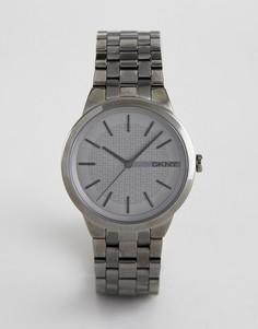 Часы из нержавеющей стали DKNY NY2384 - Серебряный