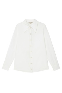 Белая блуза с декорированными пуговицами Akhmadullina Dreams