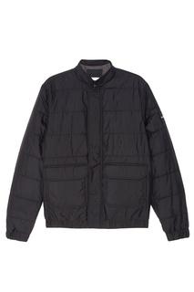 Черная куртка с надписью Calvin Klein