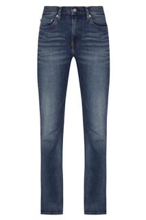 Синие джинсовые брюки Calvin Klein