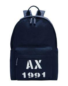 Рюкзаки и сумки на пояс Armani Exchange