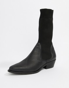 Ботинки в стиле вестерн Free People Merritt - Черный